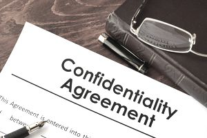 confidentiality agreement form Singapore