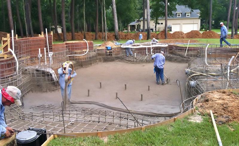 swimming pool builders UK