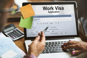 employment visa application