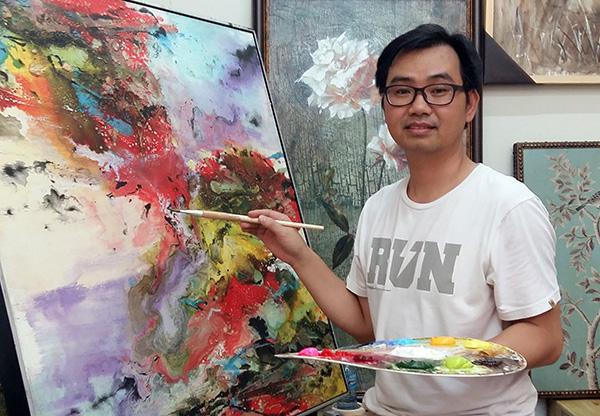 Tasmanian oil painter Richard Stanley